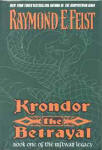 US - Krondor the Betrayal - Cover by Liz Kenyon