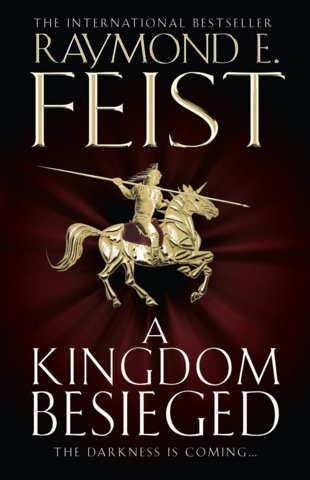 UK, Australia, New Zealand - Hardcover of A Kingdom Besieged due March 2011