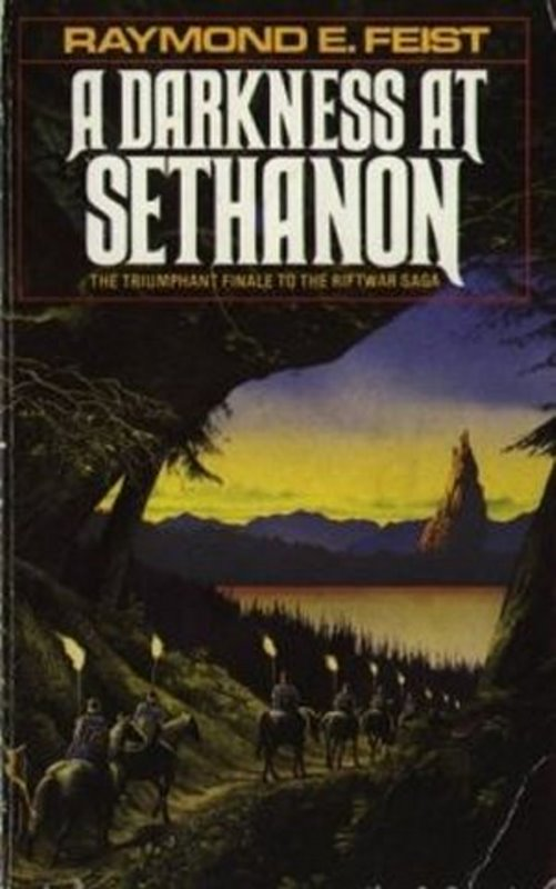 UK - A Darkness at Sethanon - Cover by Geoff Taylor