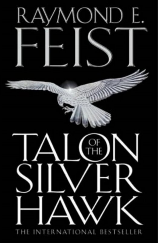 UK - Talon of the Silver Hawk - Cover by Martin McKenna