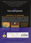 Betrayal at Krondor - Rear of Box