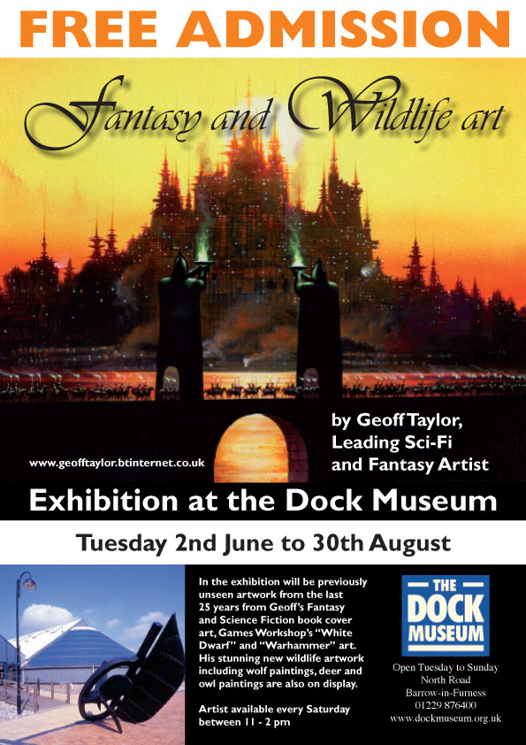 Geoff Taylor Fantasy and Wildlife Art Exhibition